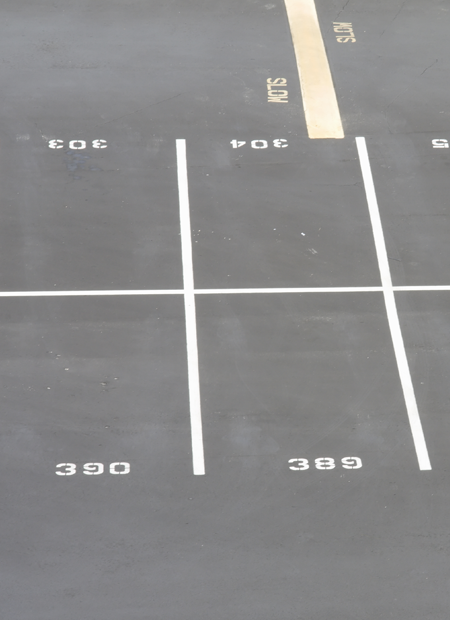 New Asphalt Parking Lot in Newark, NJ